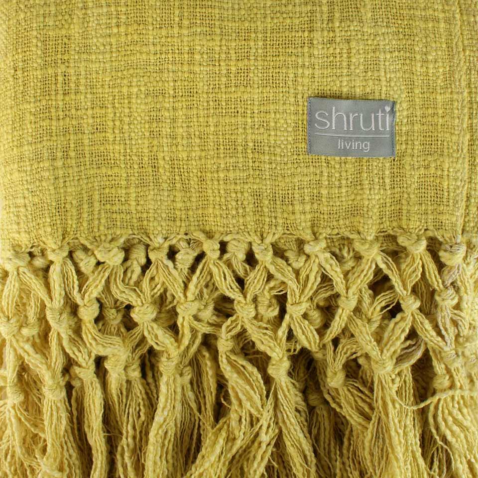 Shruti blanket image on website homepage of roubarb gift shop in East Sussex