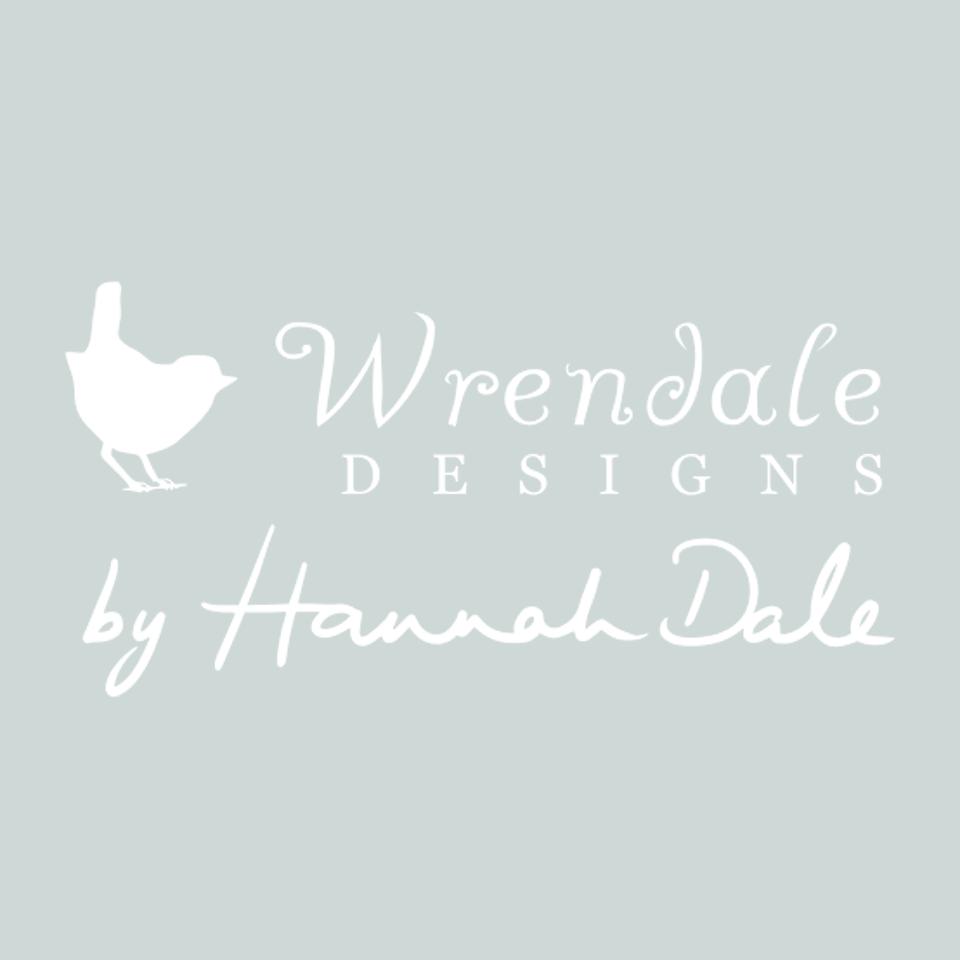 Wrendale Designs logo on website homepage of roubarb gift shop in East Sussex